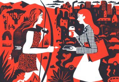 Spring, Illustration, Comic, Larissa Bertonasco, Arbeit