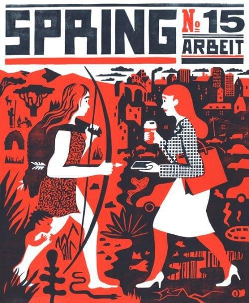 """Buchvorstellungen in Berlin: """"Nieder mit Hitler"""" und """"Spring # 15 – Arbeit"""""""