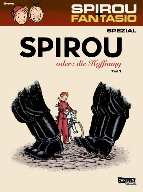 Émile Bravo mit neuem Spirou-Band in Hamburg und Berlin