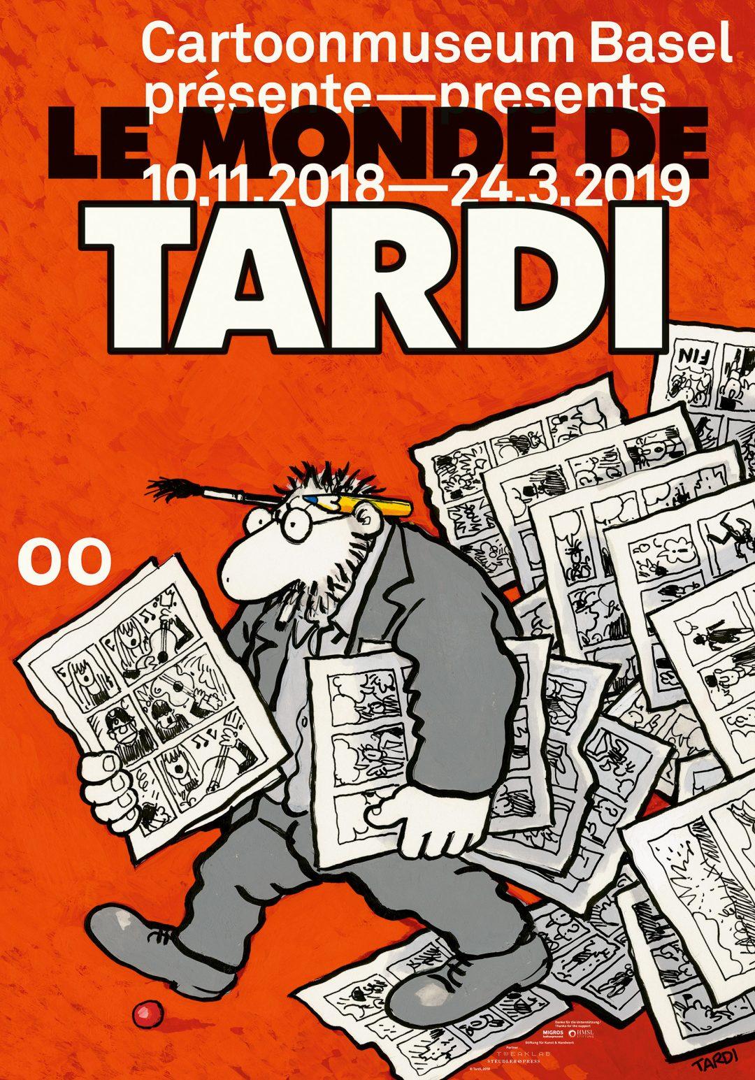 Tardi-Ausstellung in Basel