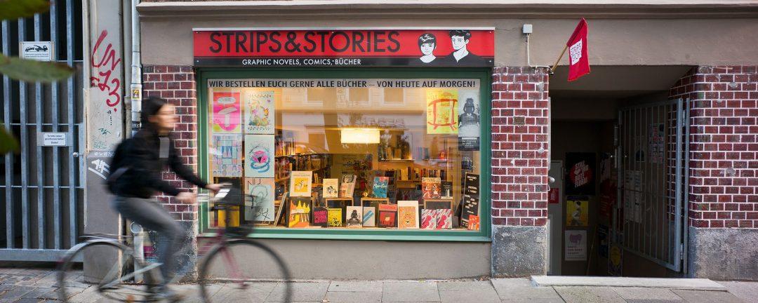 comicladen, strips stories, fachhandel