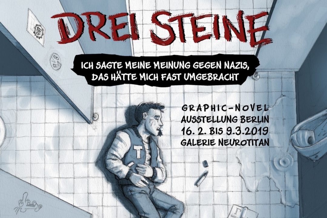 drei steine, nils oskamp, neurotitan, graphic novel