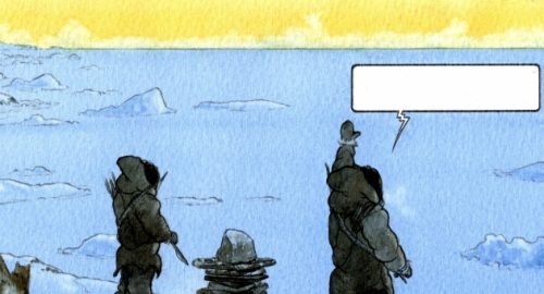 Quanga – Oqaluttuat. Die Geschichte Grönlands als Graphic Novel