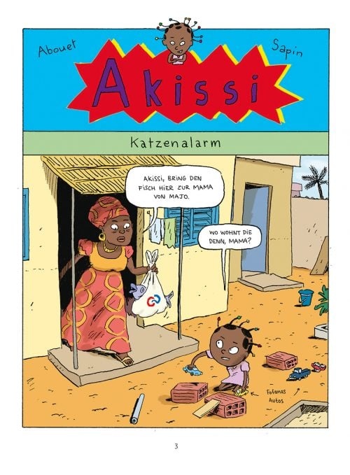 akissi, mathieu sapin, kindercomic