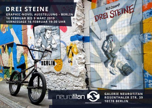 """Ausstellungseröffnung """"Drei Steine"""" in Berlin"""