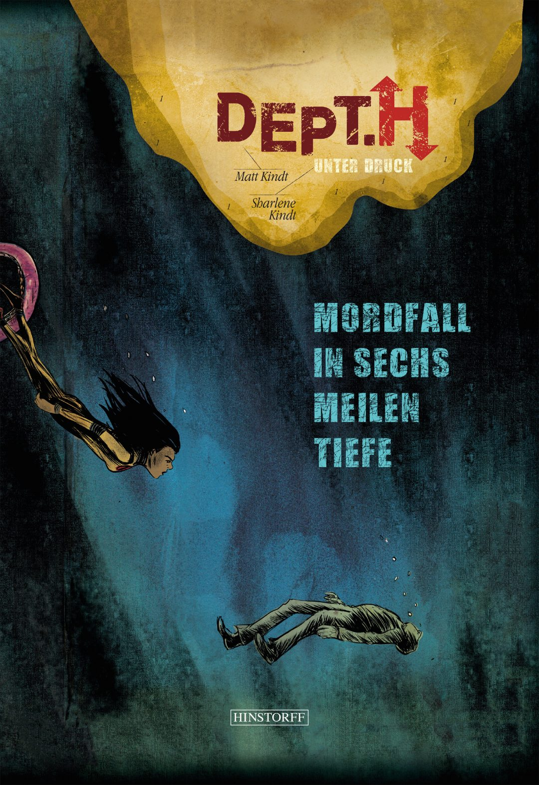 depth, matt kindt, sharlene kindt, hinstorff verlag