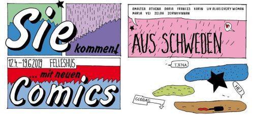 Comicausstellung im Felleshus der Nordischen Botschaften
