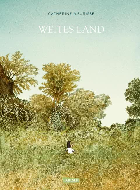 catherine meurisse, weites land, raphic novel