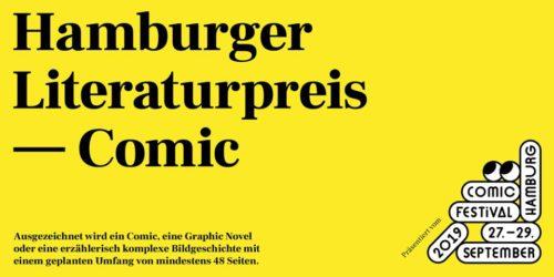 Hamburg schreibt Comicpreis aus