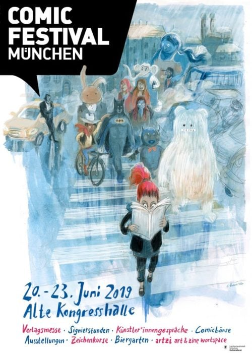 Comicfestival München 2019 Graphic Novel