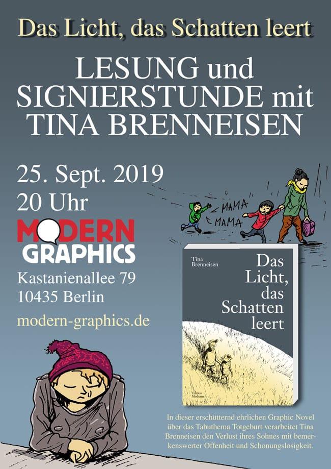 Lesung und Signierstunde mit Tina Brenneisen