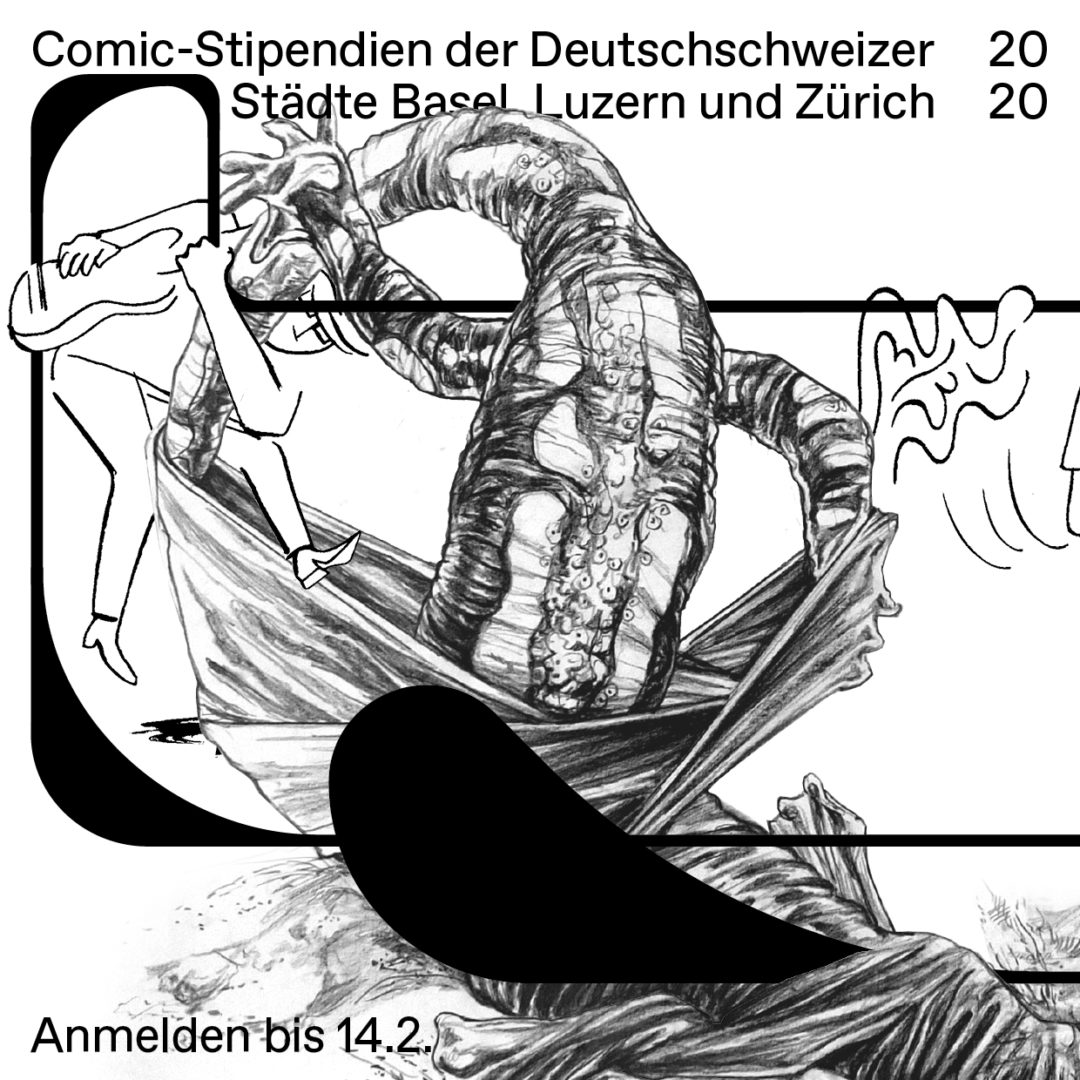 Comic-Stipendien in der Deutschschweiz 2020