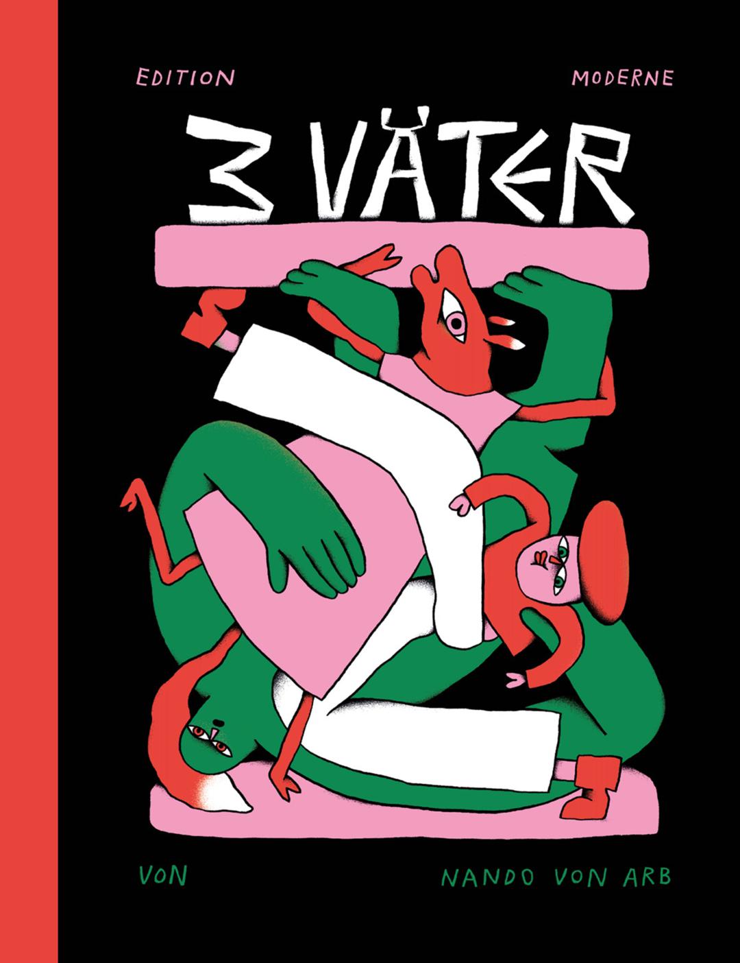 """Schweizer Kinder- und Jugendbuchpreis für den Comic """"3 Väter"""""""