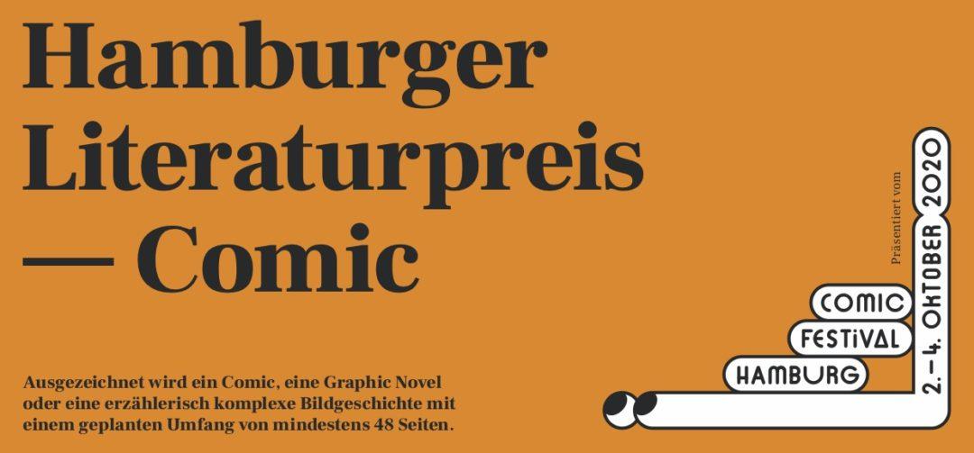 Hamburger Literaturpreise 2020 – Die Ausschreibung