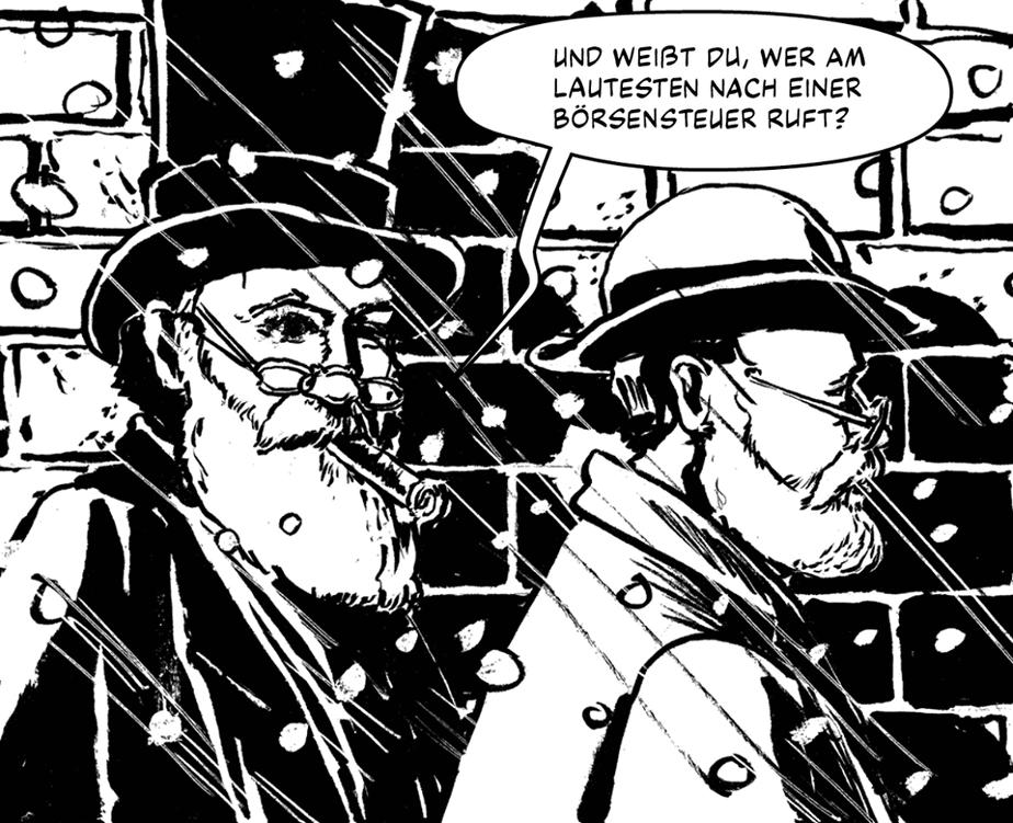 Graphic Novel über Friedrich Engels